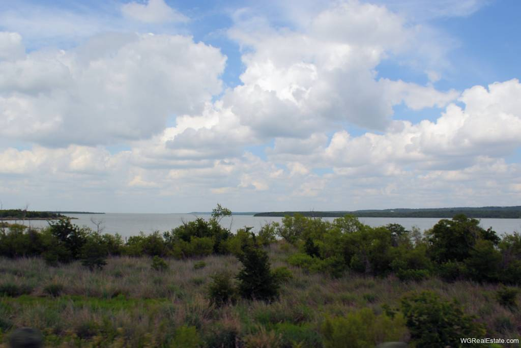 View of Joe Pool Lake from Bridge - Cedar Hill, TX
