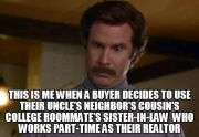 real estate meme - Actually I'm not even that mad