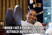 real estate meme - Happy Obama