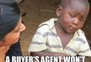 real estate meme - skeptical third world kid