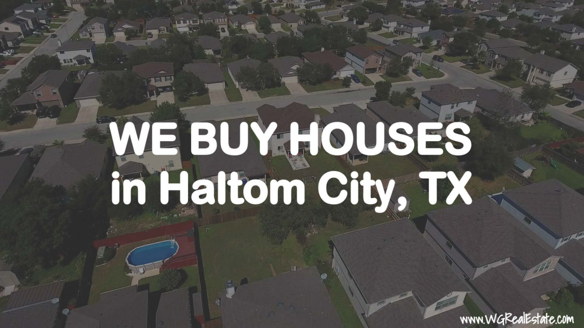 We Buy Houses for CASH in Haltom City, TX.