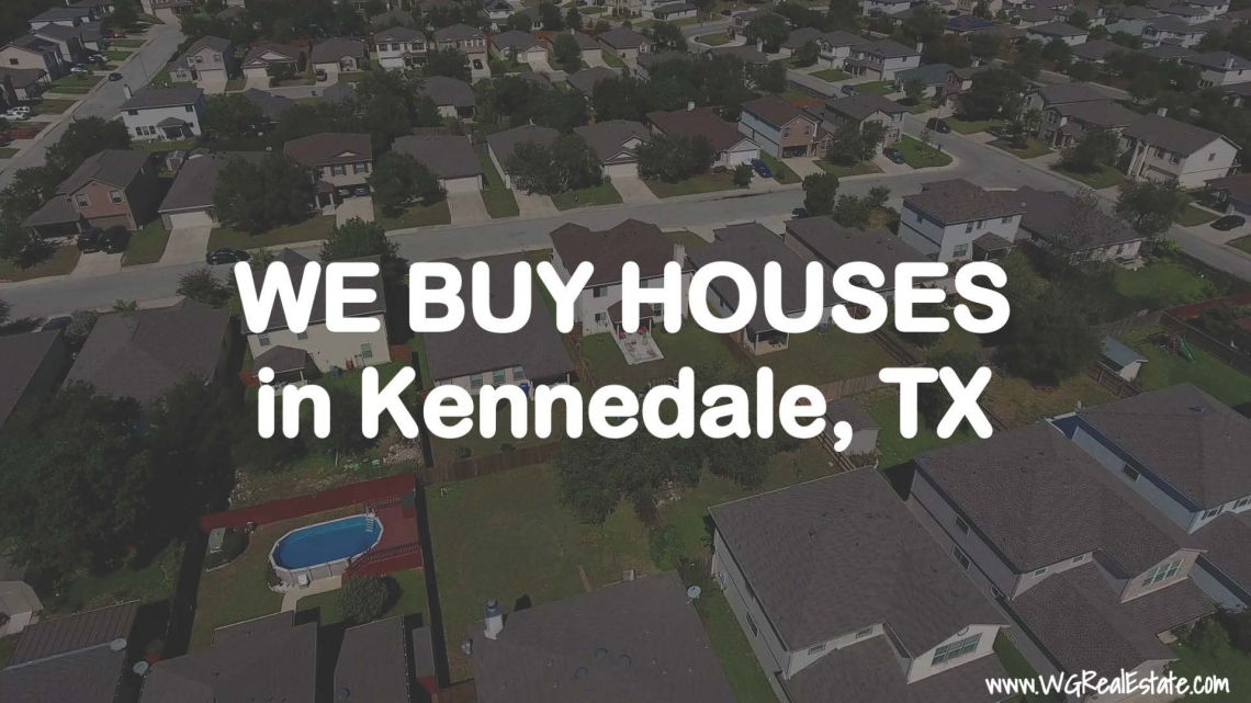 We Buy Houses for CASH in Kennedale, TX.