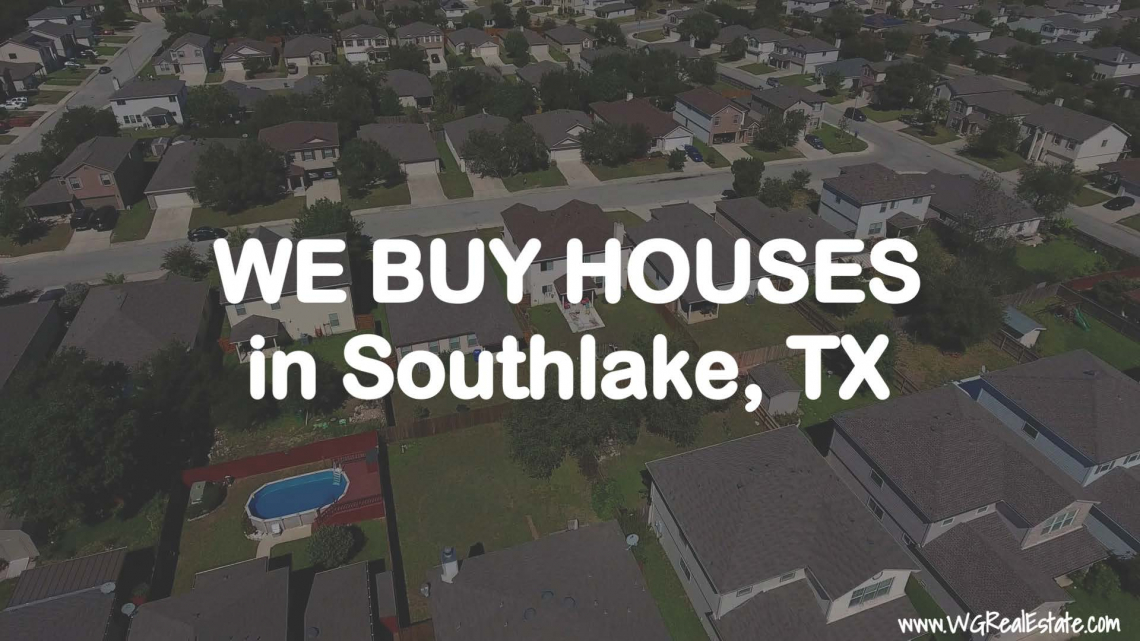 We Buy Houses for CASH in Southlake, TX.