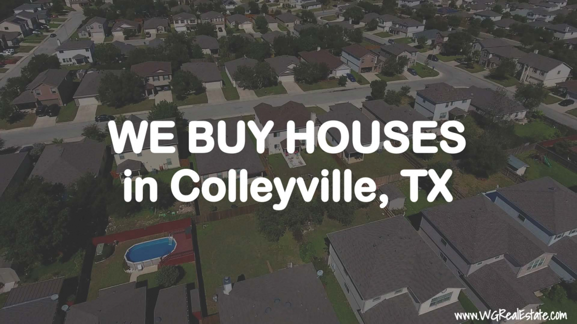 We Buy Houses for CASH in Colleyville, TX.