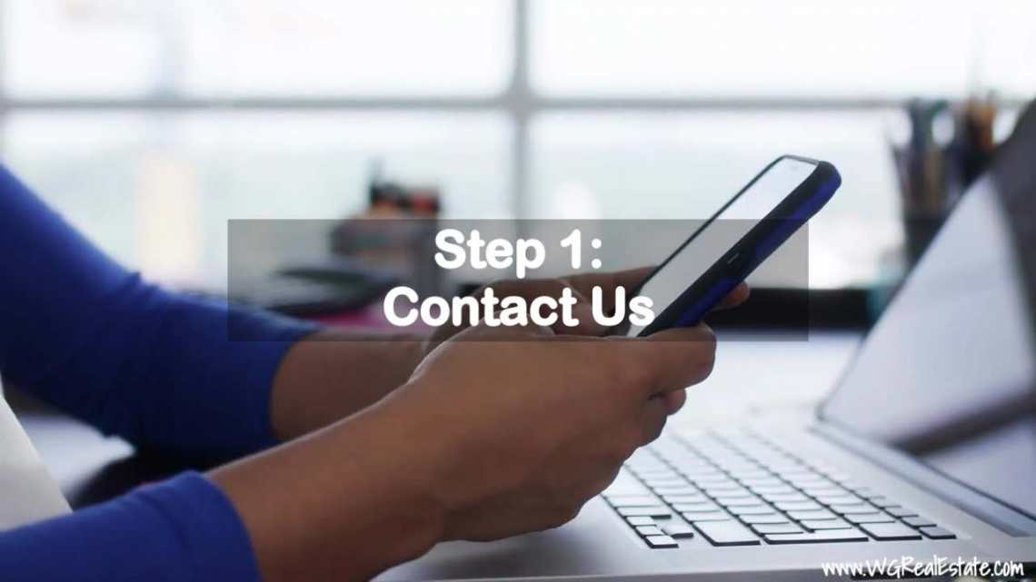 Step 1 - Contact Us